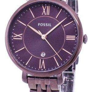 화석 재클린 석 영 ES4100 여자의 시계