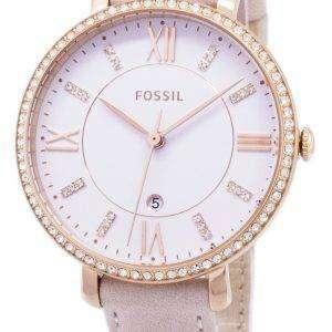 화석 재클린 석 영 다이아몬드 악센트 ES4303 여자의 시계