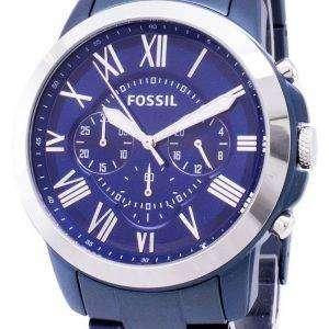 화석 부여 크로 노 그래프 석 영 FS5230 남자의 시계