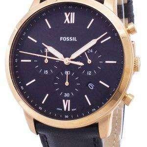 화석 Neutra 크로 노 그래프 석 영 FS5381 남자의 시계