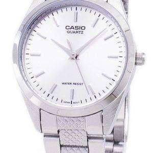 카시오 아날로그 쿼 츠 화이트 다이얼 LTP-1274 D-7ADF LTP-1274 D-7A 여자 시계