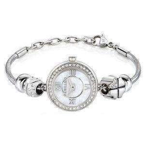 Morellato 방울 석 영 다이아몬드 악센트 R0153122589 여자의 시계