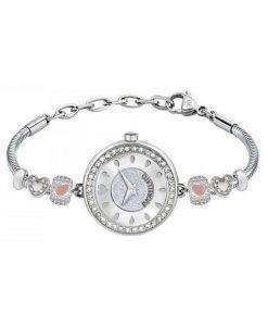 Morellato 방울 석 영 다이아몬드 악센트 R0153122592 여자의 시계