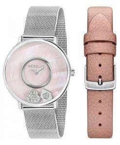 Morellato 비 타 석 영 다이아몬드 악센트 R0153150509 여자의 시계