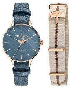Trussardi T-진화 석 영 R2451120506 여자의 시계