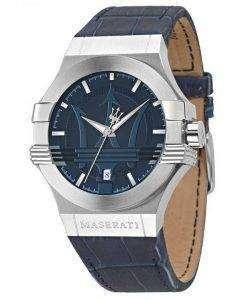 마 세라 티 포 텐 아날로그 석 영 R8851108015 남자의 시계