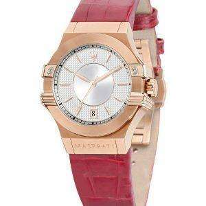 마 세라 티 포 텐 아날로그 석 영 R8851108501 여자의 시계