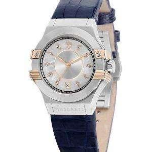 마 세라 티 포 텐 석 영 다이아몬드 악센트 R8851108502 여자의 시계