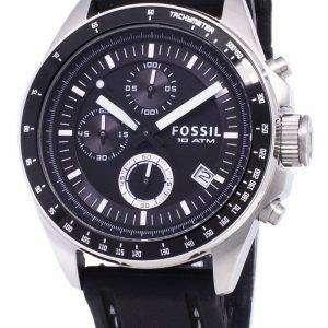 화석 데커 크로노 그래프 실리콘 CH2573 남성 시계