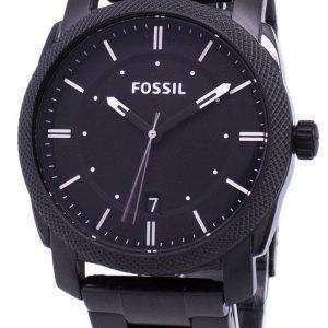 화석 기계 블랙 IP 스테인레스 스틸 FS4775 남성 시계