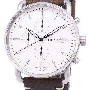 화석 통근 크로 노 그래프 석 영 FS5402 남자의 시계