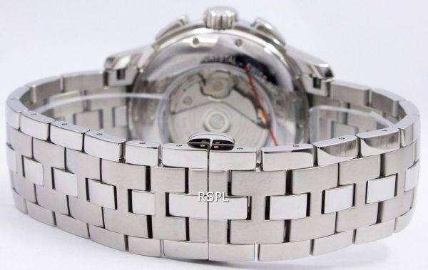 해밀턴 자동 크로 노 그래프 H32616133 Jazzmaster Mens 시계