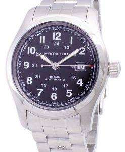 해밀턴 카 키 필드 자동 H70515137 Mens 시계