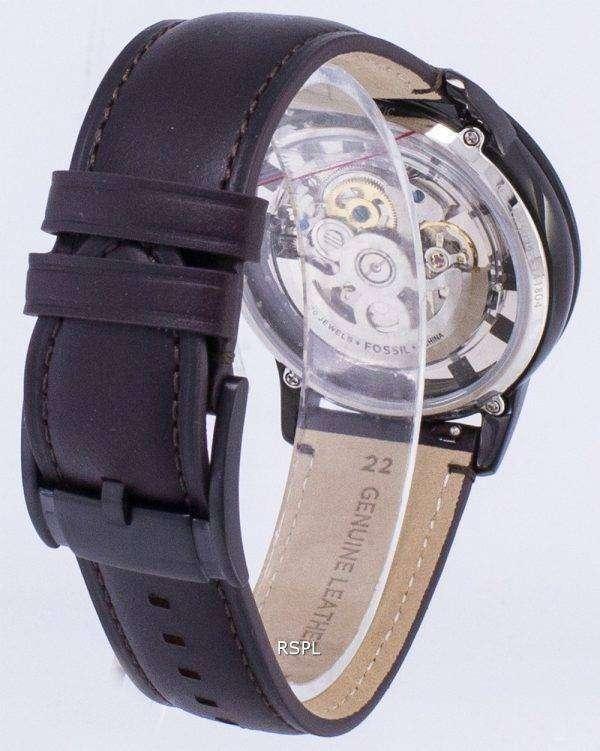 화석 도회지 자동 뼈대 다이얼 ME3098 남자의 시계