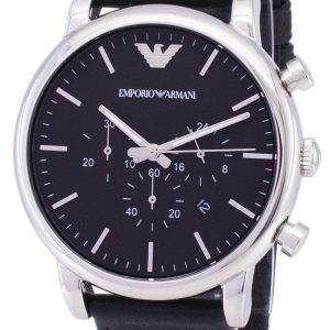 엠포리오 아르마니 클래식 크로 노 그래프 석 영 AR1828 남자의 시계