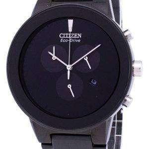 시민 공리 에코 드라이브 크로 노 그래프 AT2245-57E 남자의 시계