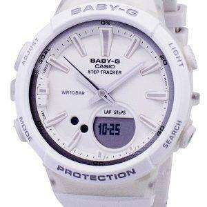 건반 베이비-G 단계 추적기 아날로그 디지털 BGS-100-7A1 BGS100-7A1 여자의 시계