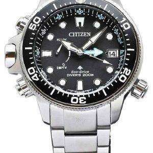 시민 Promaster BN2031 85E 에코 드라이브 다이 버의 전력 예비 남자의 시계