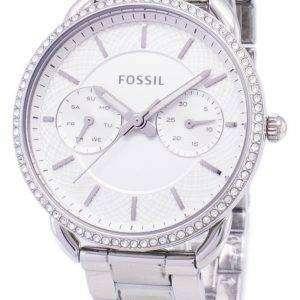 화석 재단사 다기능 석 영 다이아몬드 악센트 ES4262 여자 시계