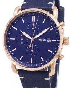화석 통근 크로 노 그래프 석 영 FS5404 남자의 시계