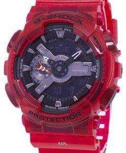 건반의 g 조-충격 특별 한 색상 모델 디지털 200 M GA-110CR-4A GA110CR-4A 남자 시계