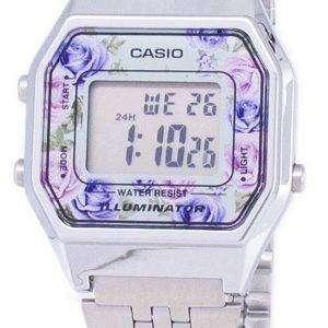 카시오 청소년 빈티지 조명 석 영 디지털 LA680WA-2 C 여성 시계