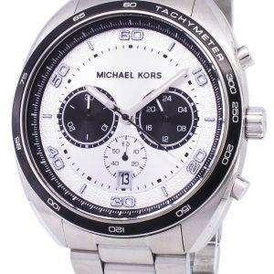 마이클 Kors 데 인 크로 노 그래프 석 영 MK8613 남자의 시계