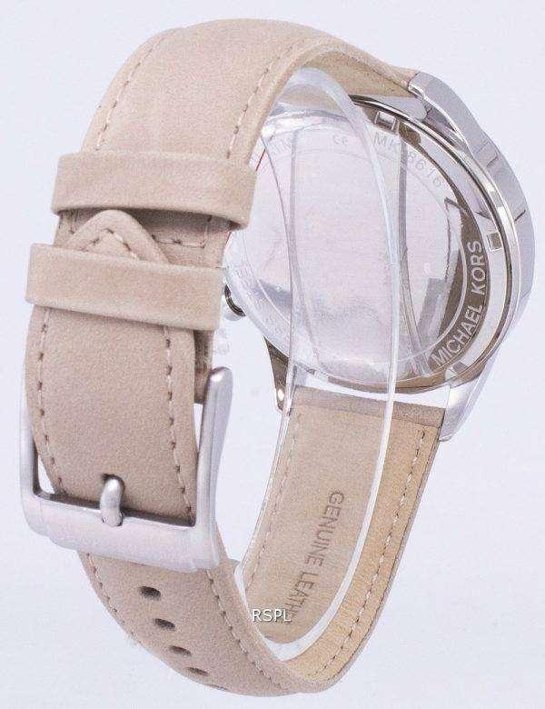 마이클 Kors 게이지 크로 노 그래프 석 영 MK8616 남자의 시계