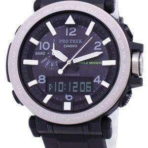 건반 ProTrek 트리플 센서 힘든 태양 PRG-650-1 PRG650-1 남자의 시계
