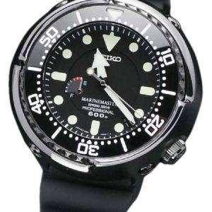 세이 코 Prospex SBDB013 Marinemaster 프로 Springdrive 다이 버의 600 남자의 시계