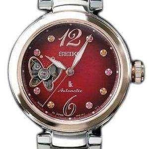 세이 코 Lukia SSVM044 제한 된 에디션 일본 다이아몬드 악센트 여자의 시계를 만든