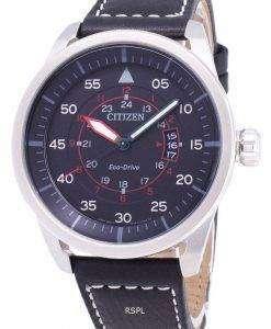 시민 Avion 에코-드라이브 AW1361-01E 아날로그 남자의 시계