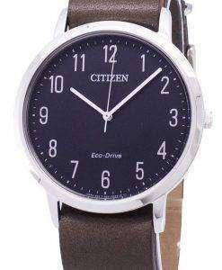 시민 우아한 BJ6501-01E 에코 드라이브 아날로그 남자 시계