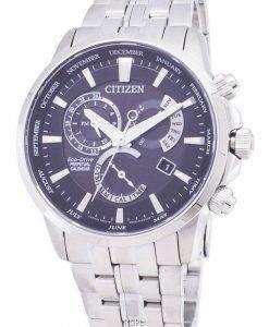 시민 에코 드라이브 BL8140-80E 달력 남자의 시계