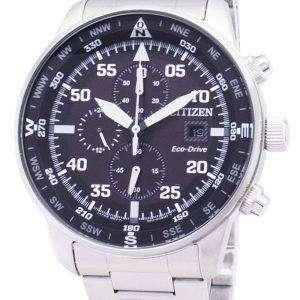 시민 비행 CA0690-88E 에코 드라이브 크로 노 그래프 남성 시계