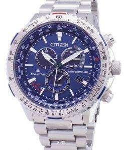 시민 Promaster 스카이 에코 드라이브 CB5000-50 L 무선 제어 남자의 시계