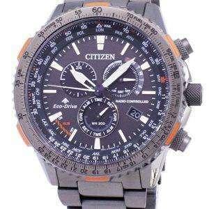 시민 Promaster 스카이 에코 드라이브 CB5007-51 H 무선 제어 남자의 시계
