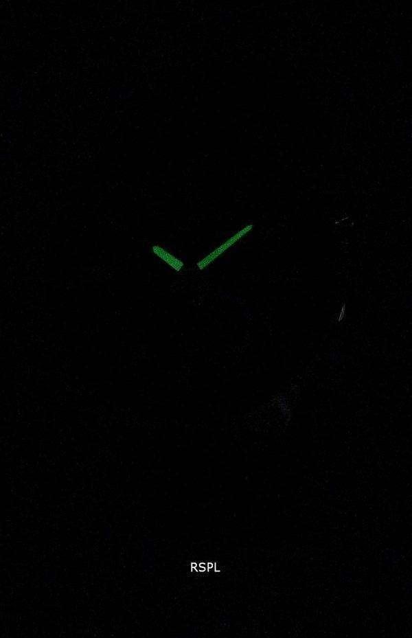 건반 건물 시대-110BL-1AV 표준 크로 노 그래프 석 영 남자의 시계