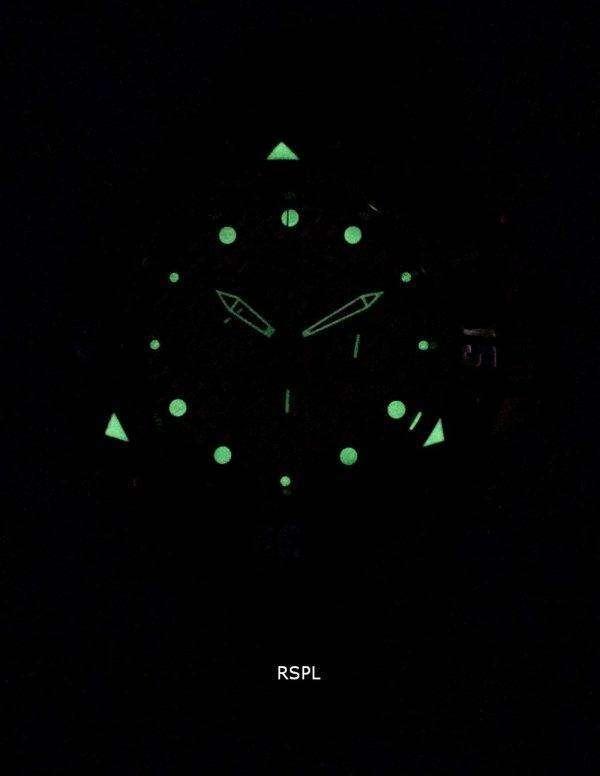 인 빅 타 Subaqua 23805 크로 노 그래프 석 영 500 남자의 시계
