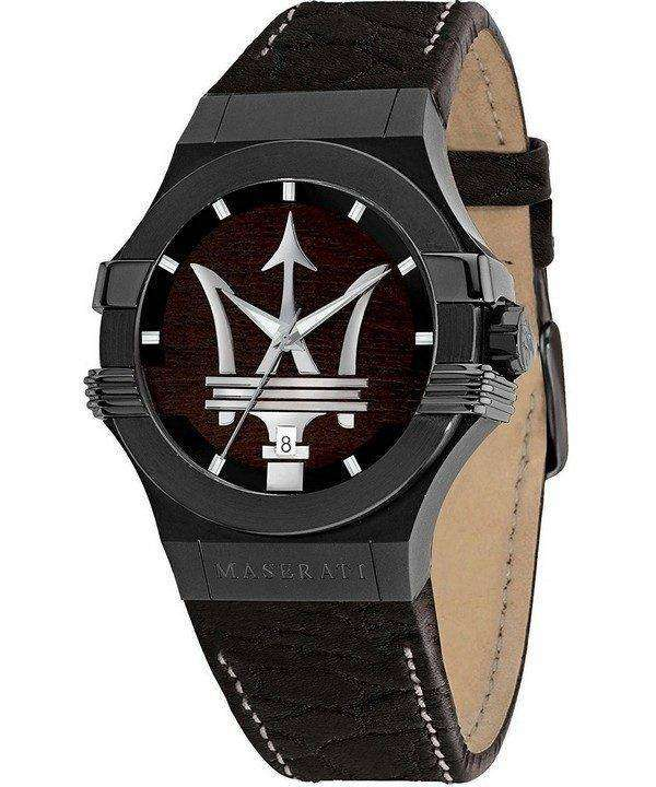 마 세라 티 포 텐 R8851108026 석 영 남자의 시계