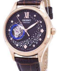 동양 자동 RA-AG0017Y10B 다이아몬드 악센트 여자의 시계