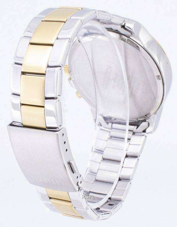 시민 AN8084 59A 크로 노 그래프 쿼 츠 남성용 시계