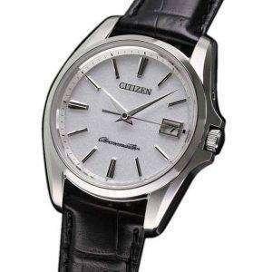 시민 석 영 AQ4020-03A 티타늄 일본 남자의 시계를 만든