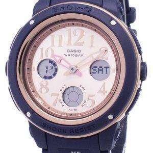 건반 베이비-G BGA-150PG-2B1 조명 아날로그 디지털 여자의 시계