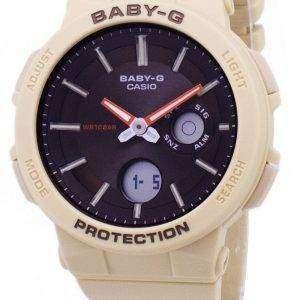 건반 베이비-G BGA-255-5A BGA255-5A 네온 조명 아날로그 디지털 여자의 시계