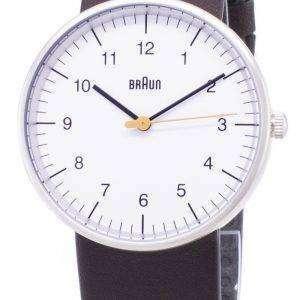브라운 클래식 BN0021WHBRG 아날로그 쿼 츠 남성용 시계