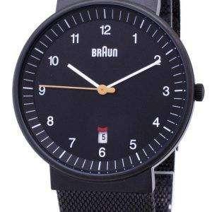 브라운 클래식 BN0032BKBKMHG 아날로그 쿼 츠 남성용 시계