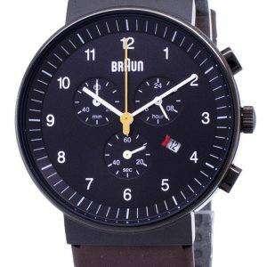 브라운 클래식 BN0035BKBRG 크로 노 그래프 쿼 츠 남성용 시계