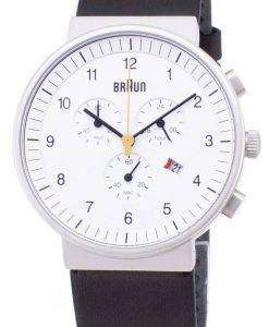브라운 클래식 BN0035WHBKG 크로 노 그래프 쿼 츠 남성용 시계