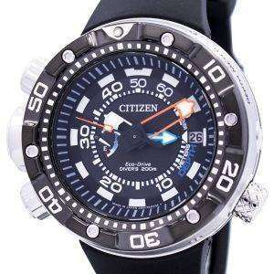 BN2024-05E 남자 시민 Promaster Aqualand 에코 드라이브 잠수 부의 시계